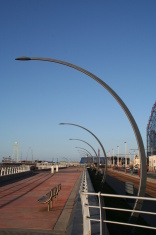 South Shore Promenade,Blackpool.