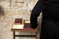 Psalms Books at the Wailing Wall