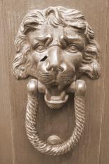 Lion Door Knocker, Venice, Italy