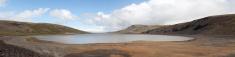 Sandkluftsvatn on Iceland