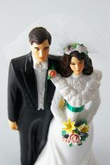 wedding couple figures