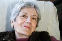 Senior Woman Smiling at Camera