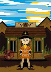 Poncho Cowboy & Jailhouse Scene