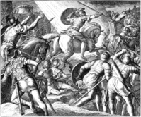 Angel of Lord Leads Israel