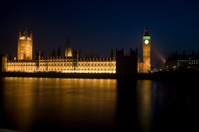 Houses of Parliament Night Shot