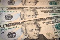 Twenty Dollar Bills Background