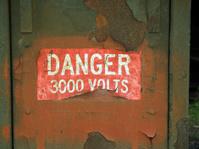 Danger, 3000 Volts