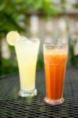 Thai lemonade and iced tea