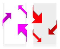 Corner arrow set