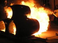 Burning Barrels - Carnival Time