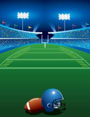 Football Game at Night