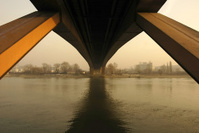 Gazela bridge in Belgrade