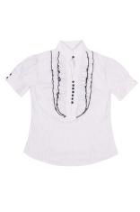 Elegant, stylish  shirt on a white.