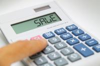 Calculator says SALE