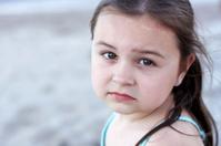 Beatiful Young girl on the Beach