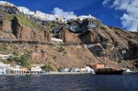 The Old Port on Santorini
