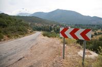 Old village road
