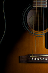 Acoustic Guitar Front