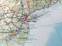 Map of The East Coast USA Stock Photos - FreeImages.com