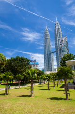 Kuala Lumpur Petronas Twin Towers.