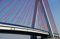 bridge on blue sky