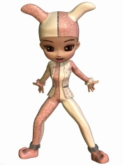 Cute Toon Figure - Jester