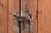 new lock on old door