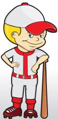Baseball Kid - Cartoon