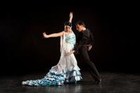 Two flamenco dancers