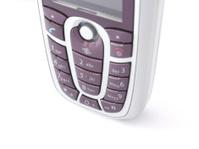 Mobile cell phone - keypad