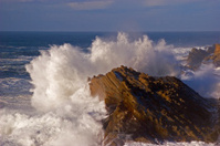 wave crash,storm