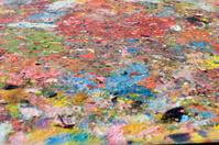 Tempera paint mess