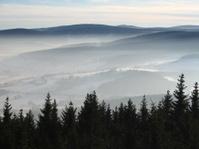 Mountains Šumava, Czech republic