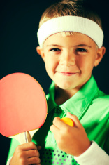 Young Ping Pong Player