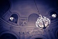 Museum interior in Budapest