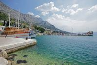 Harbour in Omis Croatia