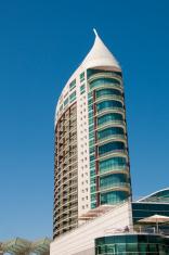 Modern office building at Lisbon Portugal