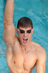 successful swimmer