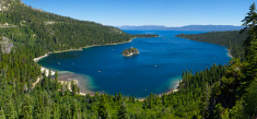 Emerald Bay Panorama, Lake Tahoe