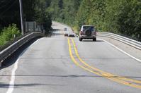 Long View Of Highway Bridge