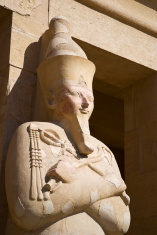 The female Pharaoh Hatshepsut