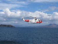 British coastguard helicopter