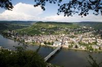 Traben Trarbach at mosel valley, Germany.