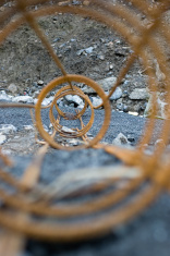 Round foundation metal