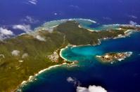 Japan Okinawa Aerial View