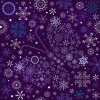 Seamless violet christmas wallpaper