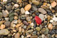 washed river rocks