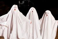 Very scary spooks on Halloween