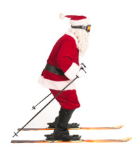 Skiing Santa - Sports Series