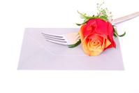 Dinner invitation concept